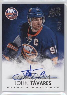 2013-14 Panini Prime - Signatures #S-JT - John Tavares /50