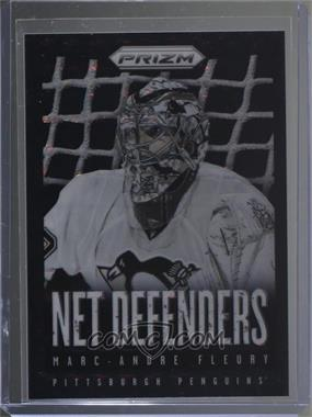 2013-14 Panini Prizm - Net Defenders - Finite Prizm #ND-4 - Marc-Andre Fleury /1