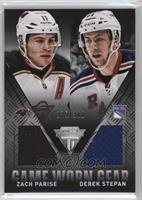 Derek Stepan, Zach Parise /300