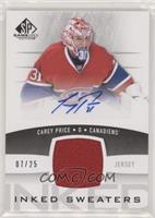 Carey Price [EXtoNM] #/25