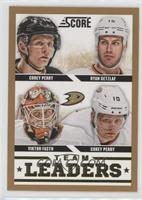 Team Leaders - Viktor Fasth, Corey Perry, Ryan Getzlaf