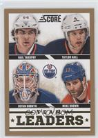 Mike Brown, Devan Dubnyk, Nail Yakupov, Taylor Hall