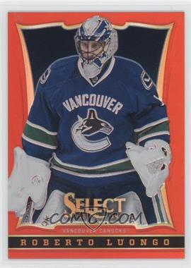 2013-14 Select - [Base] - Black Friday Red Prizm #38 - Roberto Luongo /35