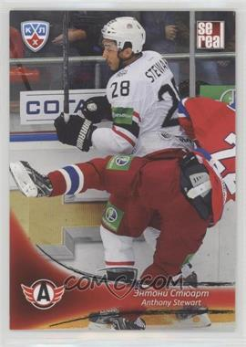 2013-14 Sereal KHL 6th Season - Avtomobilist Yekaterinburg #AVT-016 - Anthony Stewart