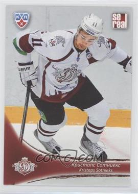 2013-14 Sereal KHL 6th Season - Dinamo Riga #DRG-008 - Kristaps Sotnieks