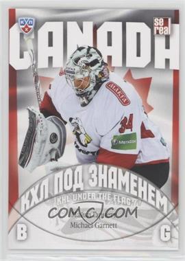 2013-14 Sereal KHL 6th Season - KHL Under the Flag #WCH-010 - Michael Garnett