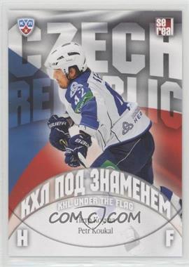 2013-14 Sereal KHL 6th Season - KHL Under the Flag #WCH-018 - Petr Koukal