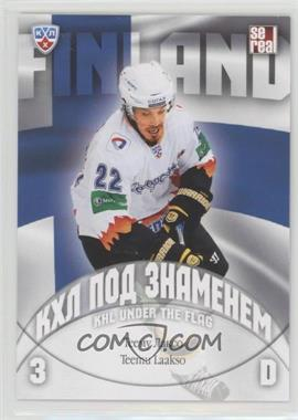 2013-14 Sereal KHL 6th Season - KHL Under the Flag #WCH-020 - Teemu Laakso