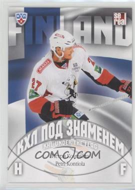 2013-14 Sereal KHL 6th Season - KHL Under the Flag #WCH-024 - Petri Kontiola