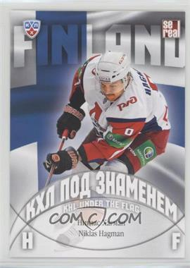 2013-14 Sereal KHL 6th Season - KHL Under the Flag #WCH-027 - Niklas Hagman