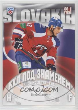 2013-14 Sereal KHL 6th Season - KHL Under the Flag #WCH-084 - Tomas Surovy