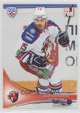 2013-14 Sereal KHL 6th Season - Lev Prague #LEV-009 - Justin Azevedo