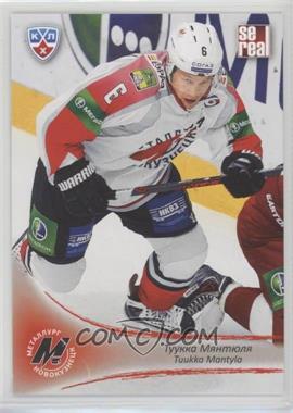 2013-14 Sereal KHL 6th Season - Metallurg Novokuznetsk #MNK-008 - Tuukka Mantyla