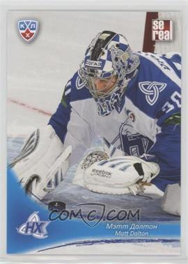 2013-14 Sereal KHL 6th Season - Neftekhimik Nizhnekamsk #NKH-002 - Matt Dalton
