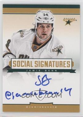 2013-14 Totally Certified - Social Signatures #SS-JB - Jamie Benn