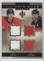 Erik Karlsson, Jason Spezza #/65