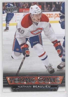 2013-14 Upper Deck - [Base] #207 - Nathan Beaulieu