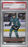 Young Guns - Tomas Hertl [PSA 10 GEM MT]