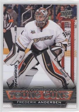 2013-14 Upper Deck - [Base] #462 - Frederik Andersen