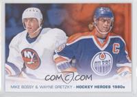 Mike Bossy, Wayne Gretzky