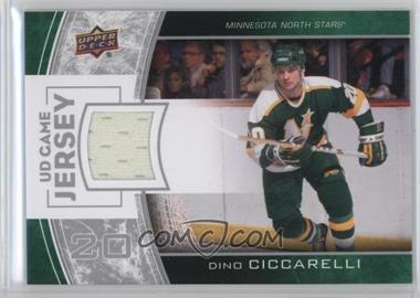 2013-14 Upper Deck - Series One UD Game Jersey #GJ-DC - Dino Ciccarelli