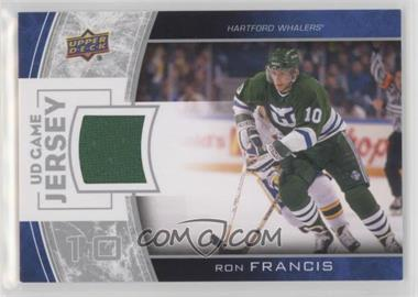 2013-14 Upper Deck - Series One UD Game Jersey #GJ-RF - Ron Francis