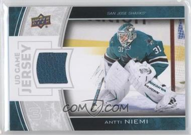 2013-14 Upper Deck - Series Two UD Game Jersey #GJ-AN - Antti Niemi
