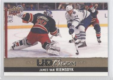 2013-14 Upper Deck - UD Canvas #C33 - James van Riemsdyk