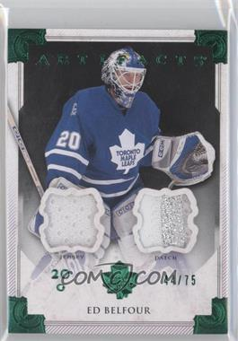 2013-14 Upper Deck Artifacts - [Base] - Emerald Jersey/Patch [Memorabilia] #111 - Ed Belfour /75