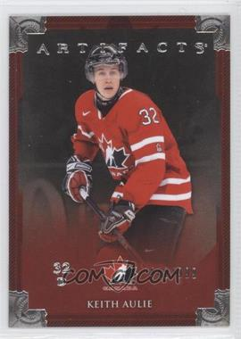 2013-14 Upper Deck Artifacts - [Base] #142 - Keith Aulie /999