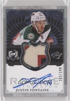 Justin Fontaine #/249