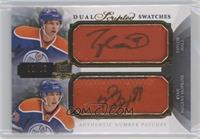 Taylor Hall, Ryan Nugent-Hopkins #/15