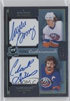 Clark Gillies, Mike Bossy #/25