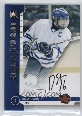2013 In the Game Draft Prospects - Autographs - Silver #A-DS2 - Dylan Strome