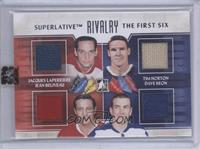 Jacques Laperriere, Jean Beliveau, Tim Horton, Dave Keon [Uncirculated]