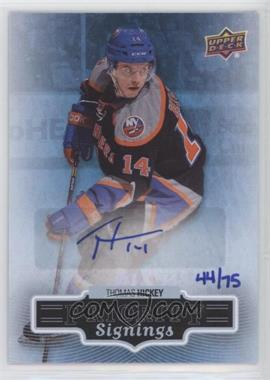2013 Upper Deck 2013 Fall Expo - Priority Signings - [Autographed] #F-TH - Thomas Hickey /75