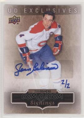 2013 Upper Deck 2013 Fall Expo - Priority Signings - UD Exclusives [Autographed] #FE-JB - Jean Beliveau /2