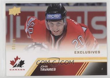 2013 Upper Deck Team Canada - [Base] - Exclusives Spectrum #135 - John Tavares /10
