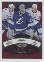 Kristers Gudlevskis, Cedric Paquette, Cody Kunyk #/27