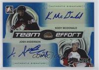 Kody McDonald, Josh Anderson /10