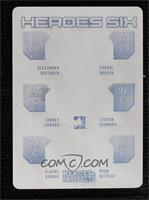 Alex Ovechkin, Sidney Crosby, Evgeni Malkin, Steven Stamkos, Claude Giroux, Rya…