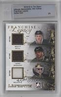 Brett Hull, Mike Modano, Ed Belfour [Uncirculated] #/5