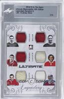 Robert Fillion, Dutch Hiller, Maurice Richard, Guy Lafleur, Jacques Plante, Pat…