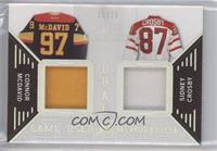 Connor McDavid, Sidney Crosby #/15