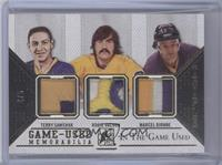 Terry Sawchuk, Rogie Vachon, Marcel Dionne /5