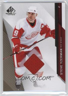 2014-15 SP Game Used - [Base] - Gold Jerseys [Memorabilia] #67 - Steve Yzerman