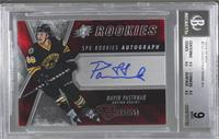 Spectrum Red Rookie Auto - David Pastrnak /199 [BGS 9]