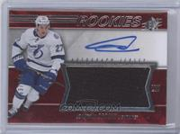 Spectrum Red Rookie Auto Jersey Level 2 - Jonathan Drouin /249