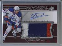 Spectrum Red Rookie Auto Jersey Level 2 - Leon Draisaitl #/249