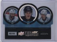 Nicklas Backstrom, Joe Thornton, Sidney Crosby /10